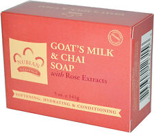 Nubian Heritage   Bar Soap Goat's Milk and  Chai -Vitamin E ONE BAR 5 OZ