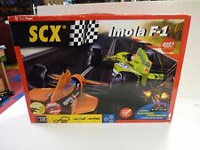 SCX ANALOG 2001 # 80460 IMOLA F-1 2001 VERSION SLOT CAR SET 1/32 C-3 SET
