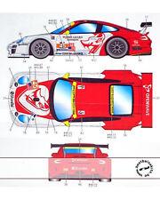 ST27 PORSCHE 911 GT3 FLYING LIZARD DECAL f FUJIMI 1/24