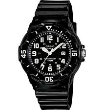 Casio LRW200H-1B Women's Black Resin Band 100M Sports Date Analog Watch
