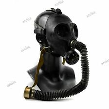 Soviet russian Gas mask PDF-2SH PDF-2D black. Gas mask + hose.