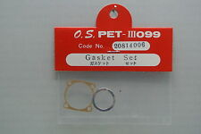 GASKET SET FOR THE VINTAGE OS MAX PET III .099 or the VINTAGE .10R/C and U/C NIB