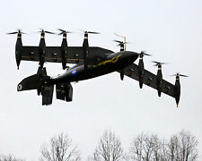 NEWE 8x10 Photo NASA developing a battery powered airplane- Greased Lightning