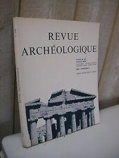 REVUE ARCHEOLOGIQUE 1983 n°2 double hache dans le monde hellénique...