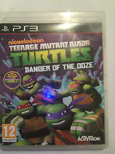 PLAYSTATION 3 PS3 jeu teenage mutant ninja turtles danger de la boue disque vgc!