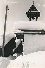 HAUTELUCE c. 1950 -  Village sous la Neige Cloche  Savoie - DIV 7456