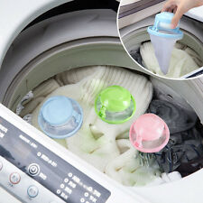 Washing Machine Laundry Supplies Floating Lint Mesh Pouch Filter Bag Cleaning