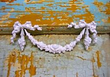 SHABBY & CHIC ROSE SWAG * FURNITURE APPLIQUES / ONLAYS