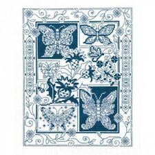 FARFALLA Bliss cross stitch chart By Diane arthurs