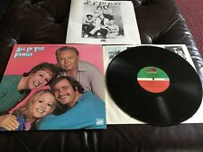 All In The Family Album Record Vinyl Inserts Rob Reiner Sd7210