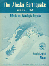 Geology-Alaska Earthquake, Effects Hydrologic Regimen, S Central Alaska #544-A