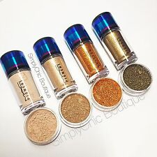 AUTH MAC Pigments Naked Blonde's Gold Glitter Reflects Bronze Sample Lot 1/4tsp