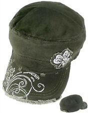 St Patricks Day Irish Costume Shamrock Cadet Cap Hat