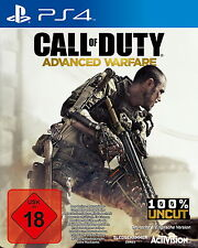 Sony PS4 Advanced Warfare USK18 Call of Duty CoD Shooter Kult Spiel AW1 Cinema