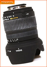 Sigma 18-125mm F3.5-5.6 DC Autofocus Zoom Lens in Nikon Free UK Postage