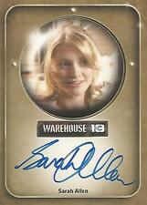 "Warehouse 13 Season 2 - Sarah Allen ""Emily Krueger"" Autograph Card"