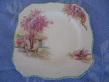 vintage J & g meakin lilac time sandwich bread & butter  plate