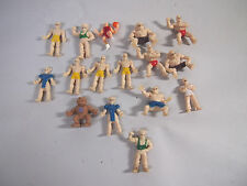 CAPCOM STREET FIGHTER II Mini figure lot japan Vintage Rare