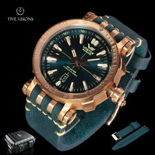 Vostok-Europe 49mm Energia Bronze Case Automatic w/ 17 Tritium Tubes & Dry Box