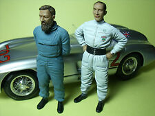 MOSS  JENKINSON  1/18  UNPAINTED  FIGURES  MADE  BY  VROOM  FOR  MERCEDES CMC