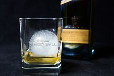"""The Original Whiskey Ball (2 PACK) - 2.5"""" jumbo silicone ice sphere mold"""