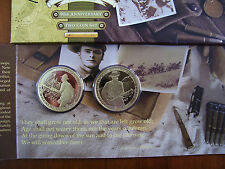 "2005 $1 Proof Two Coin Set: ""90th Anniversary of Anzac."""