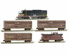 Micro-Trains MTL Southern Pacific Weathered Cattle Car Set 99301420