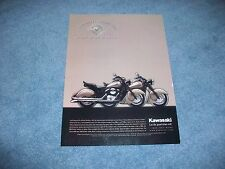 "2000 Kawasaki Vulcan Drifter Motorcycle Ad ""What Good is a Beautiful Body..."""