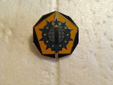MILITARY INSIGNIA CREST DUI US ARMY UNSURE SWORD ABD STARS PENTAGON