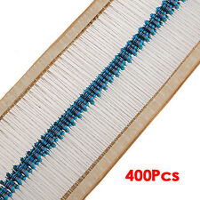 1/4w 5% Metal Film Resistor Kit 400pcs 40 Values Assortment/Pack/Mix/Selection