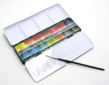 Sennelier - French Watercolour Metal Set With 14 Full Pans
