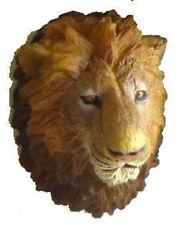 DOLLHOUSE MINI HUNTING TROPHY TAXIDERMY LION HEAD