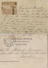 Magnifica Tarjeta Postal. ORENSE. Animada, Reverso = Unión Postal Universal.