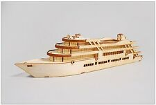 Cruise Ship / Wooden model kit