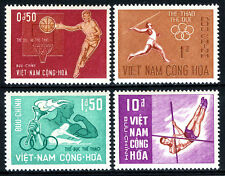 Viet Nam South 272-275, MNH. Sport. Basketball, Javelin, Torch, Pole vault, 1965