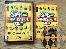 Sims 2 Family Fun Stuff Pc Game! Complete! Look In The Shop!