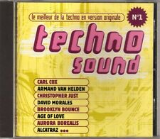 Compilation - Techno Sound N°1 - CD - 1997 - Techno Trance House Polygram France