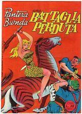 fumetto PANTERA BIONDA ANNO 1954 COLLANA JUNGLA AVVENTUROSA NUMERO 6 DA EDICOLA