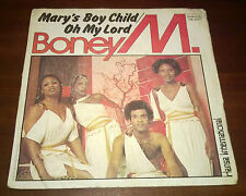 "Boney M. 45 Giri "" MARY'S BOY CHILD/OH MY LORD-DANCING IN THE STREETS "" Durium"