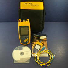 New Condition Fluke Fiber OneShot with Screen Protector, Cable, User Guide, Case