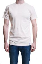 One True Saxon Morkere Shoulder Patch Cream Natural T-shirt Small BNWT rrp £45