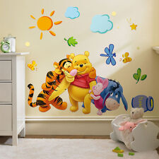 Disney Winnie the Pooh Removeable Wall Sticker Decal Kids Room Baby Nursery