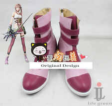 Final Fantasy 13 Serah Boot Party Shoes Cosplay Boots Custom-made