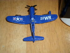 WW#2, USA, F4U-4 CORSAIR FIGHTER PLANE, Diecast Metal Toy, Scale:1/100