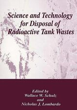Science and Technology for Disposal of Radioactive Tank Wastes-ExLibrary