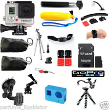 GoPro HERO 3 PLUS Kit Mount Bundle waterpoof certified factory refurbished