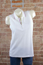 NWT $85 Polo Golf Ralph Lauren Womens Sleeveless Tank Top shirt Sz L Tailored