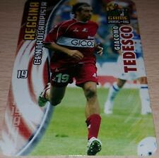 CARD CALCIATORI PANINI 2005-06 REGGINA TEDESCO CALCIO FOOTBALL SOCCER ALBUM
