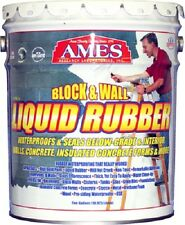 Ames BWRF5 5 Gallon Block & Wall Liquid Rubber Basement Waterproofing Coating