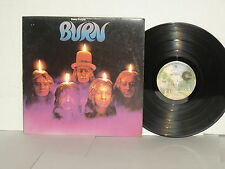 DEEP PURPLE Burn LP Vinyl David Coverdale Ritchie Blackmore Mistreated Sail Away